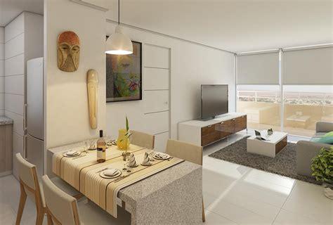 imagenes de livings minimalistas render living comedor edificio terrazas del loa