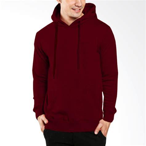 Jaket Sweater Polos Kualitas Ekspor Ajp jual vm oblong polos basic hoodie jaket pria merah maroon harga kualitas terjamin