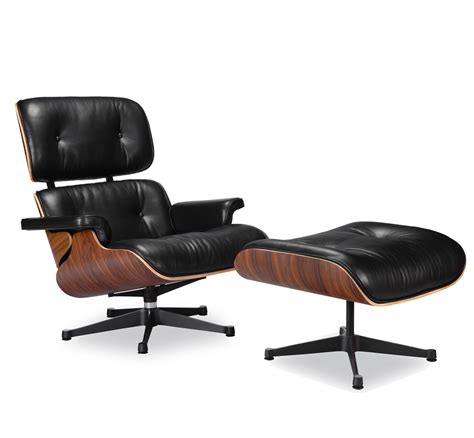 Eames Chair And Ottoman Replica by Eames Lounge Chair Replica Vitra Black Manhattan Home Design