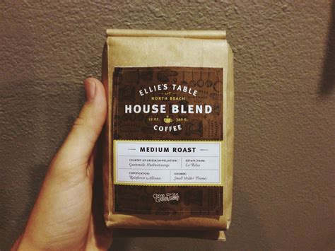 Ellie S Table Coffee Label Design By Brian Rau Coffee Pinterest Http Roadsafetypic Coffee Label Design Template