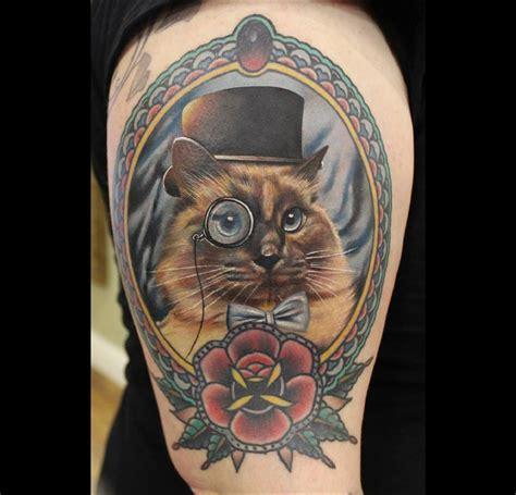 tatouage chat la s 233 lection qui va vous faire ronronner