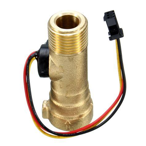 Water Switch Flow dc 5v copper water heater sensor switch flow sensor alex nld