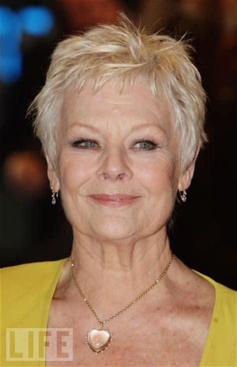 judy dench hairstyle front and back judi dench hairstyle from back short hairstyle 2013