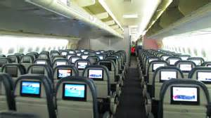 new cabin delta air lines 747 400 74s cabin tour
