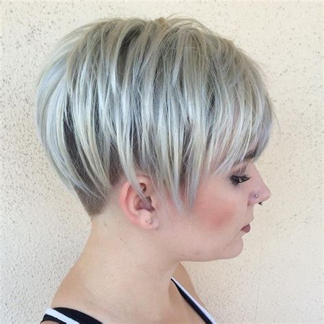 blonde bob undercut 60 short choppy hairstyles for any taste choppy bob