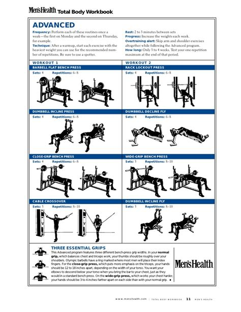 mens health workout plans eoua