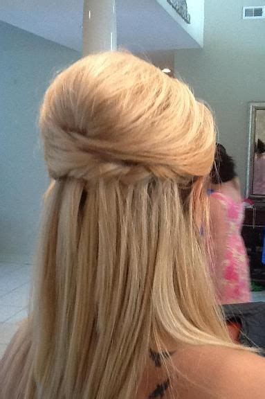 bridesmaid hairstyles down straight 186 best images about hair styles half up half down on