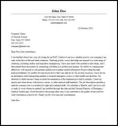 emt cover letter sample the best letter sample