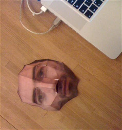 Make A Paper Mask - leftlobe 187 create a paper mask of your