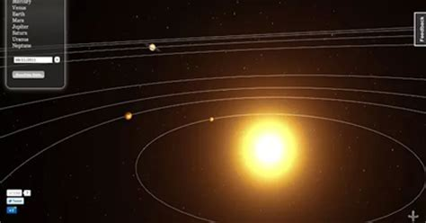 3D Solar System Real Time Model