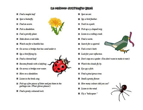 backyard scavenger hunt ideas 14 ways to keep your kids from getting bored while cing