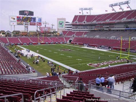 section 245 a raymond james stadium section 245 seat views seatgeek