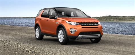 burnt orange range rover 2015 land rover discovery sport colours guide carwow