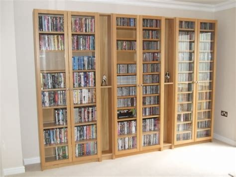 Stylish New Dvd Cd Blu Ray Media Storage Cabinet Glass Dvd Storage Cabinet With Doors