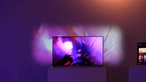 philips ambient light tv philips afterglow ambilight tv generation