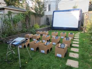 backyard birthday ideas is this the cutest backyard party idea ever coldwell