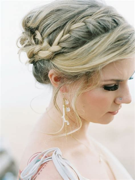 fashion forward hair up do 20 beautiful and bride worthy braids chic vintage brides