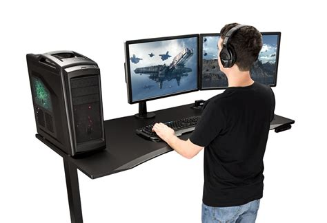 Ergonomic Gaming Desk Uplift Desk Best Gaming Desk