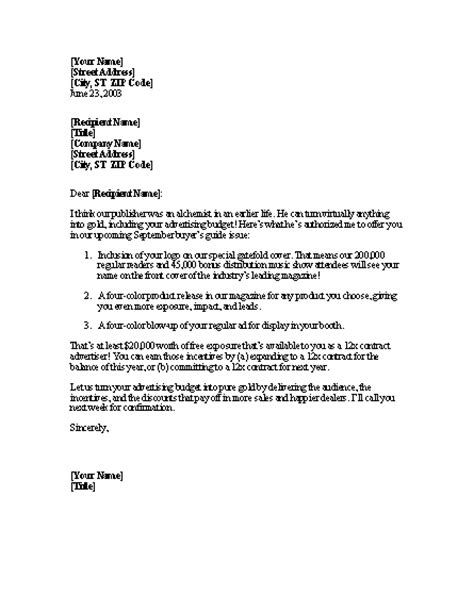 Sle Business Letter For Printing Services Sales Letter For Advertising Services Letter Templates