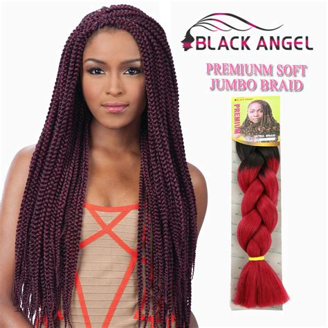 expression hair for braids what is the cost 1piece lot ombre two tone kanekalon jumbo high