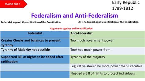 federalist and anti federalist venn diagram early republic 1789 1812