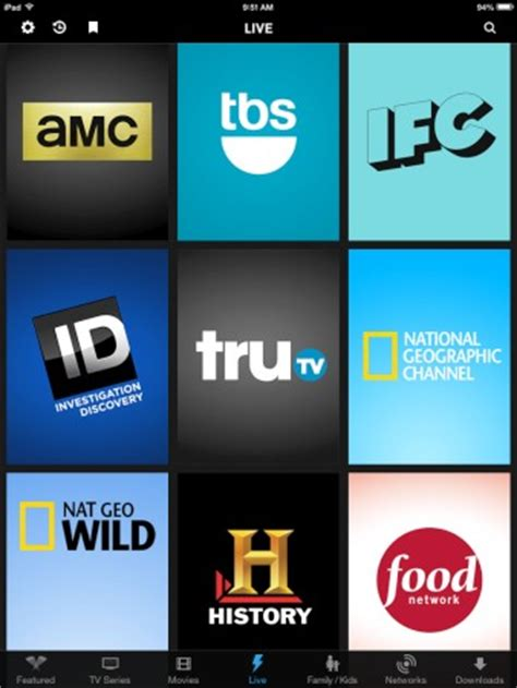 Amc Live Tv Cable Television Usa Comcast S Live Tv App Has Doubled Its Channel Count In A Year