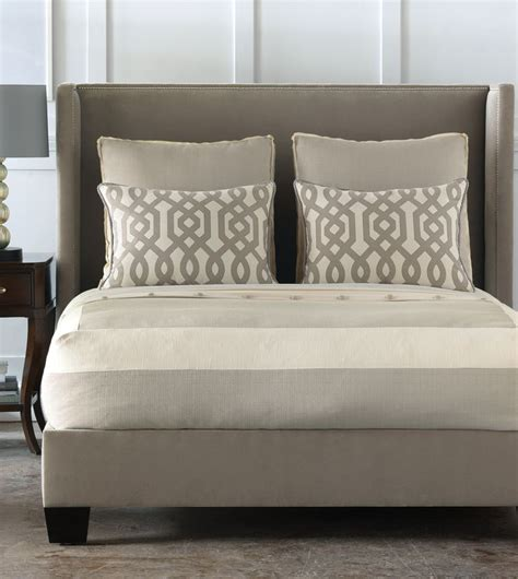 luxury bed frames luxury bedding by eastern accents taupe and cream on
