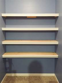 how to build wall to wall shelves