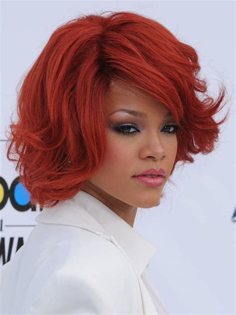 best hair red hair doos 2015 rihanna s hair through the years capital