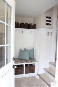 entryway mudroom remodelaholic diy entryway mudroom with cubbies for