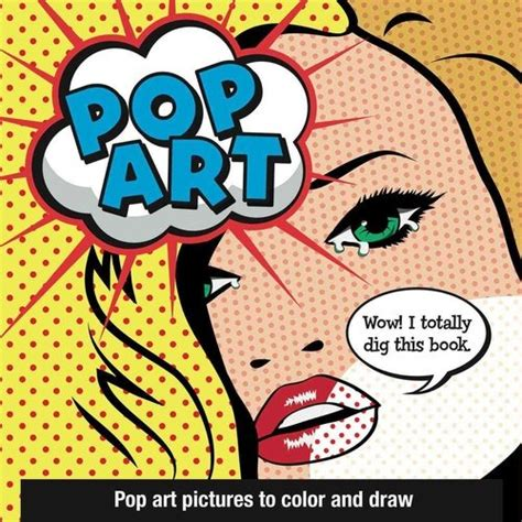 libro pop art a colourful pop art arte pop cuadros para colorear y dibujar 77 111 en mercado libre