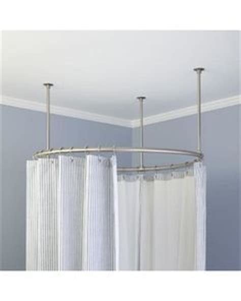 half oval shower curtain rod 1000 images about shower curtain on pinterest shower
