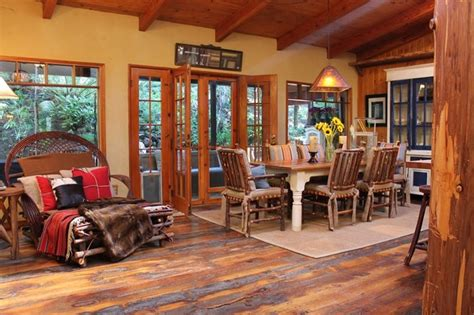 Adirondack Home Decor by Adirondack Style Lodge Rustic Dining Room Los Angeles By Modern Home
