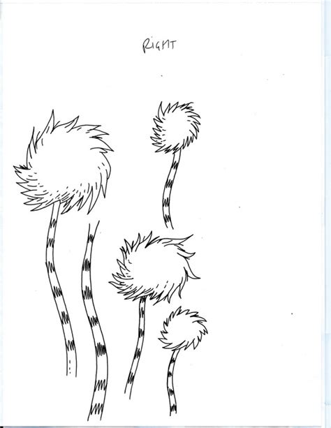 Truffula Tree Coloring Page dr seuss truffula tree coloring pages coloring pages