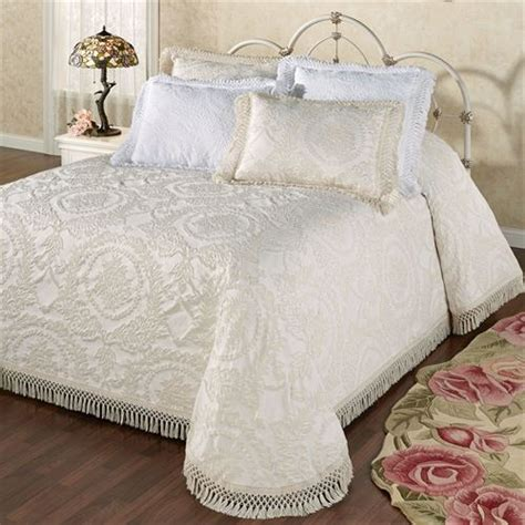 vintage coverlets bedding sets queen vintage cotton matelasse bedding