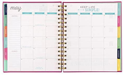 2017 eccolo spiral agenda datebook weekly monthly views