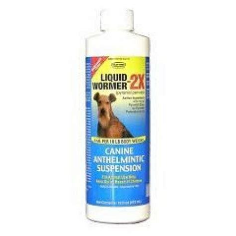 liquid wormer for puppies durvet liquid wormer 2x 16 oz products gregrobert pet supplies