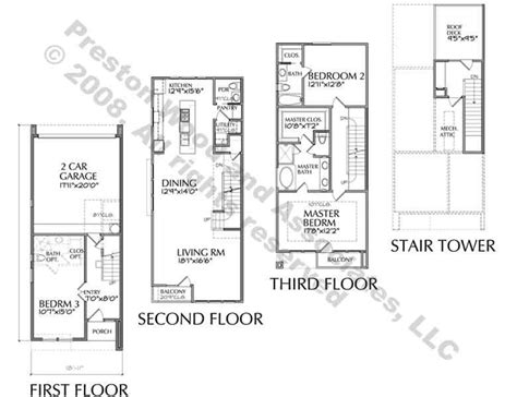 Contemporary Townhouse Plans by Town House Plans Modern Inspirational Townhouse Plan