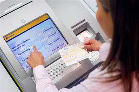 deutsche bank ausland geld abheben postbank service terminals