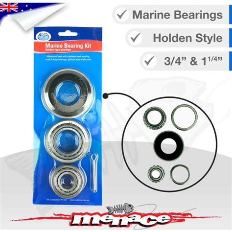 boat trailer wheel bearings and seals marine boat trailer wheel bearing kit holden bearings
