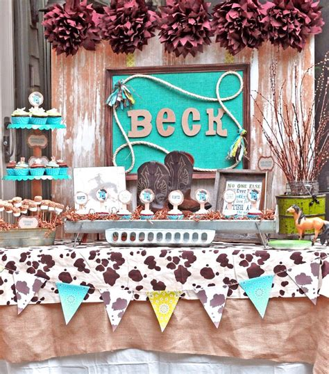 Cowboy Baby Shower Ideas by Cowboy Baby Shower Ideas Babywiseguides