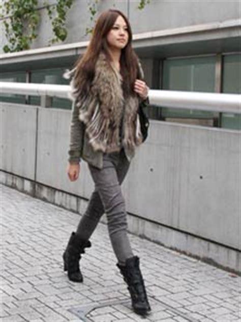 Legging Thermallegging Winter Furlegging Musim Dingin japanese winter fashions fashion trends in japan web japan