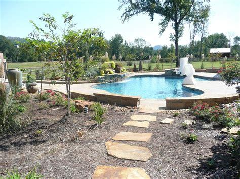 Backyard Pools Ar Freeform In Ground Swimming Pool Arkansas