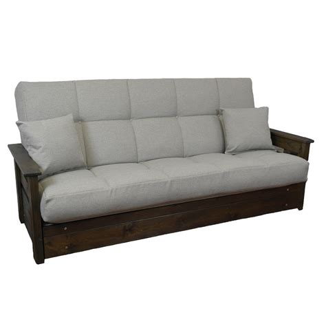 futon sofa boston futon sofa bed 3 seat click clack buy direct