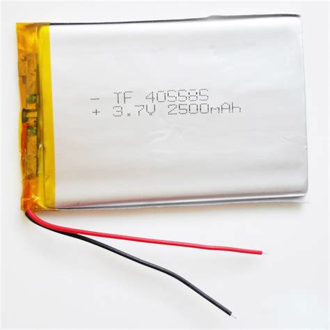 Battery Lythium Polymer 061045 aliexpress buy newest 405585 lithium polymer battery 3 7v 2500mah li ion rechargeable