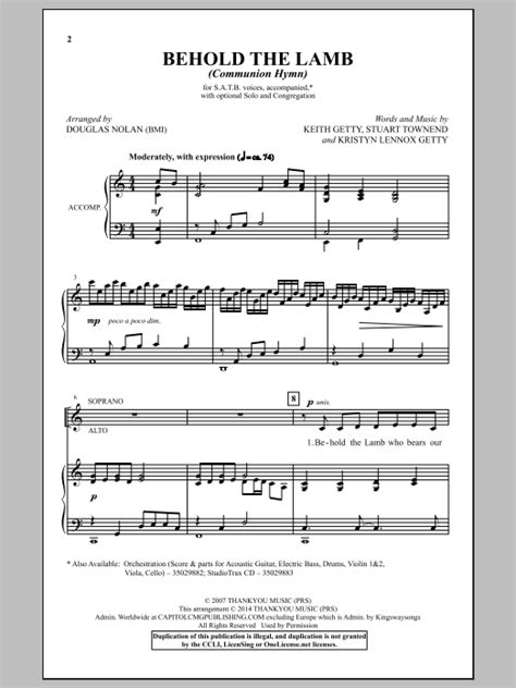 printable lyrics to now behold the lamb behold the lamb communion hymn arr douglas nolan