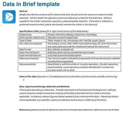 Info Briefformat How New Article Types Help Make Science More Reproducible