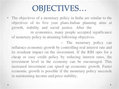 How To Get In Rbi After Mba by Economic Policies Mba