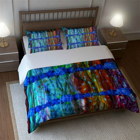 etsy bedding bohemian boho bedding duvet cover set pillow shams twin