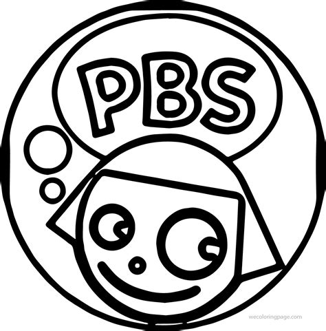 kid coloring pbs coloring pages for ecoloringpage